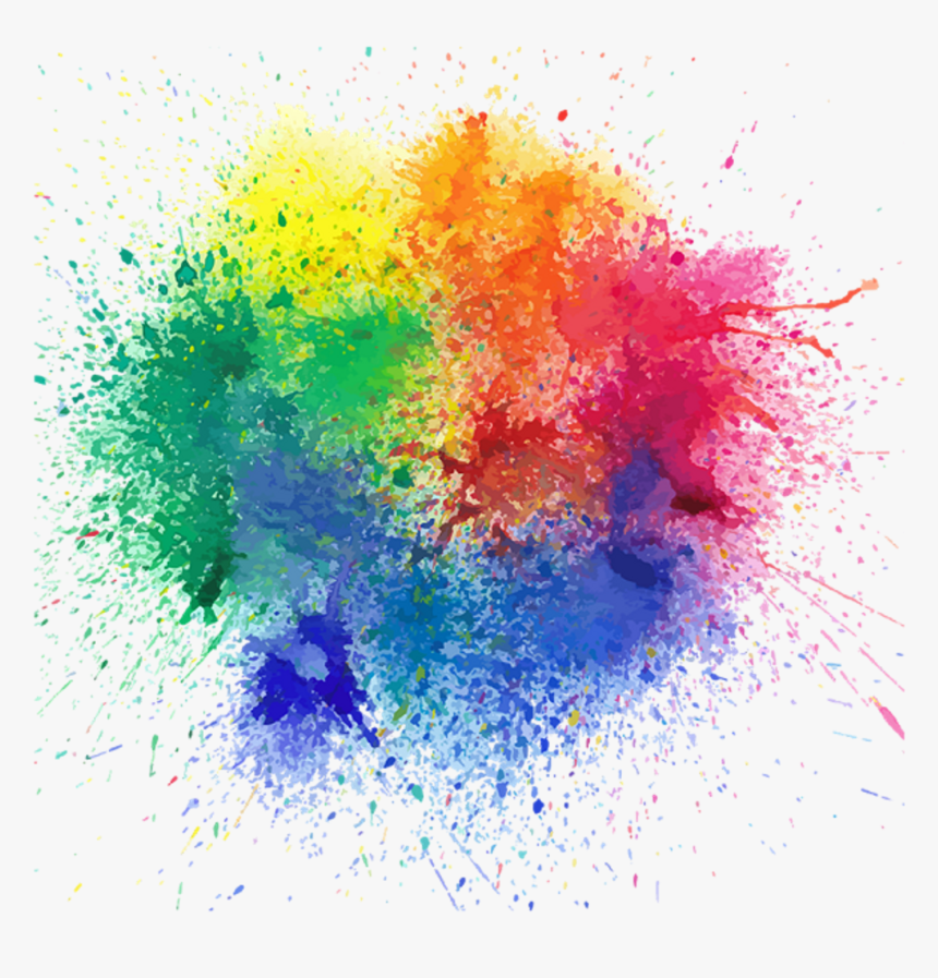 Colours Splash Png - Color Splash Transparent Background, Png Download, Free Download