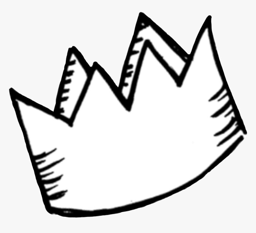 Font,line Art,black And White,coloring Book,symbol,clip - Crown Doodle Png,  Transparent Png - Kindpng