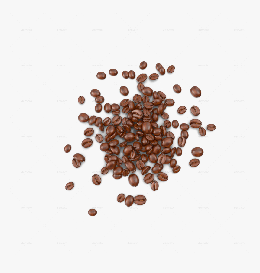 Coffee Beans Transparent - Top View Coffee Beans Png, Png Download, Free Download