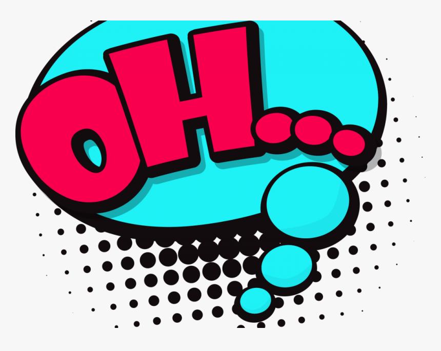 Speech Balloon Comics Comic Book Clip Art - Transparent Background Speech Bubble In Comics, HD Png Download, Free Download