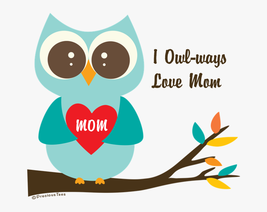 Cute Owl Love Banner - Cute Owl Reading Clipart, HD Png Download, Free Download
