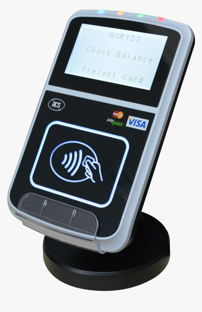 Contactless Card Reader Contactless Reader Png Transparent Png Kindpng