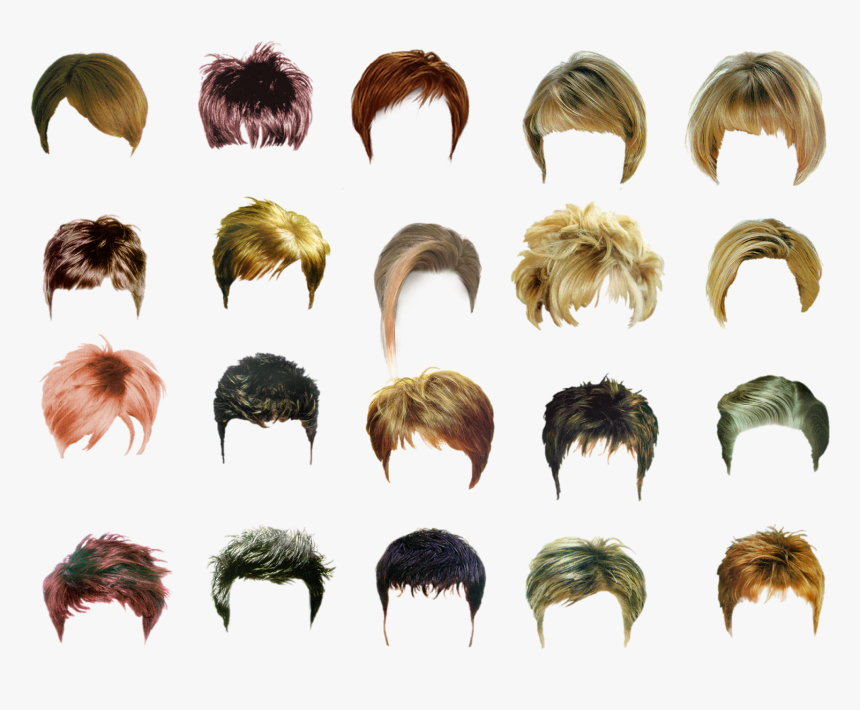 Transparent Mens Hair Png - Psd Hair For Photoshop, Png Download, Free Download