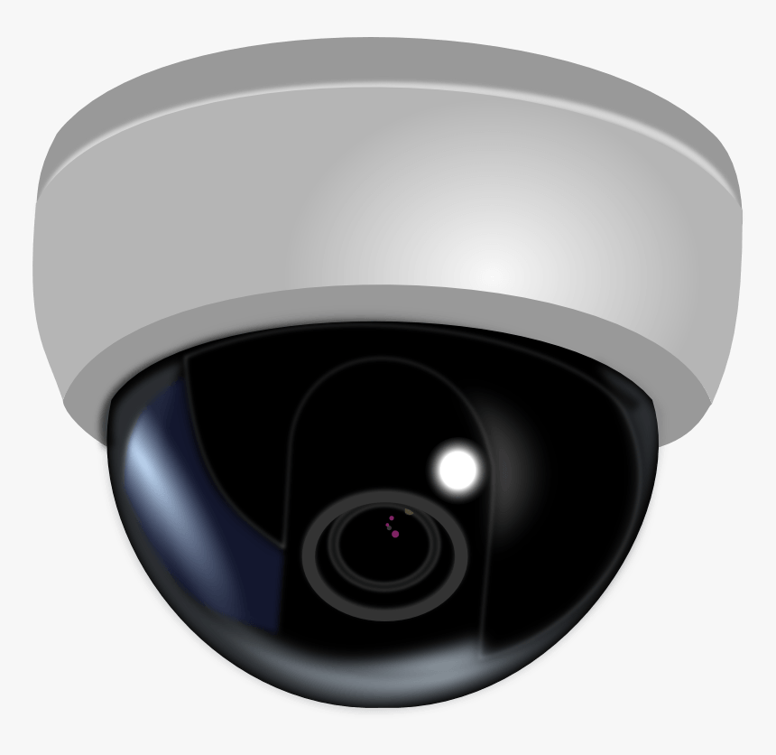 Clipart Camera Video Camera - Cctv Dome Camera Png, Transparent Png, Free Download