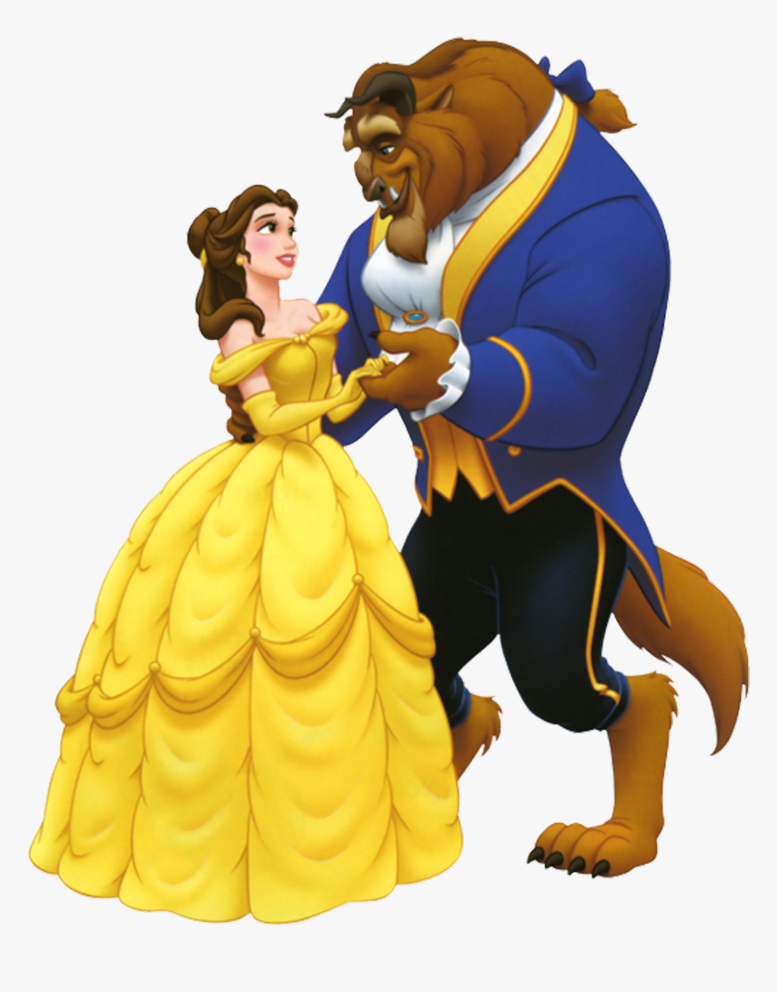 Beauty And The Beast Animation - Beauty And The Beast, HD Png Download, Free Download