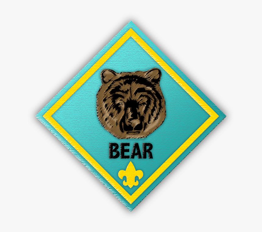 Transparent Cub Scout Clipart - Cub Scout Bear, HD Png Download, Free Download