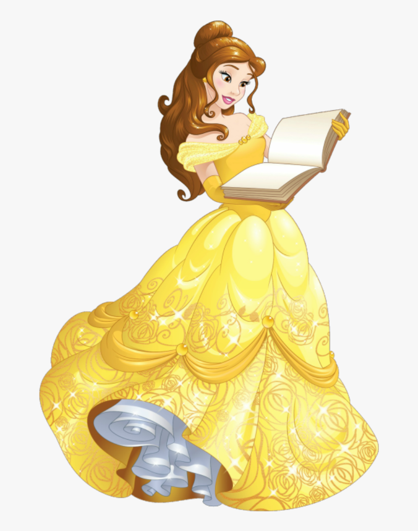 Belle Background Png - Cartoon Belle Beauty And The Beast, Transparent Png, Free Download