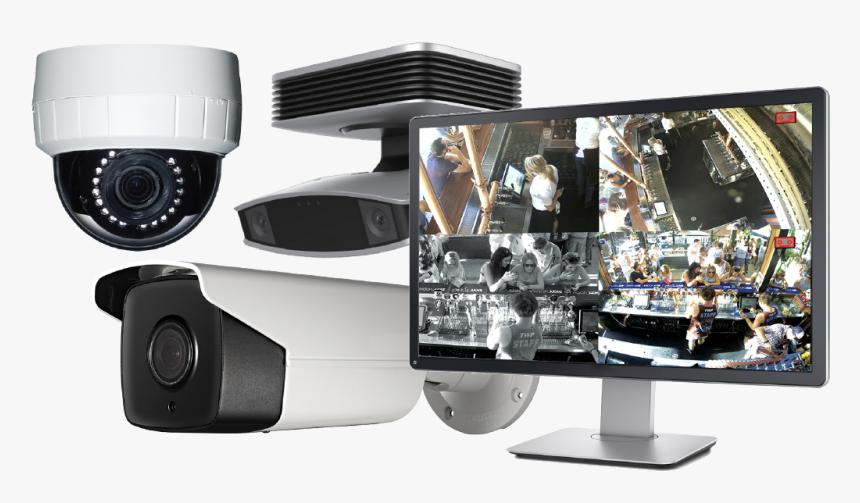 Cctv Camera System Png, Transparent Png, Free Download