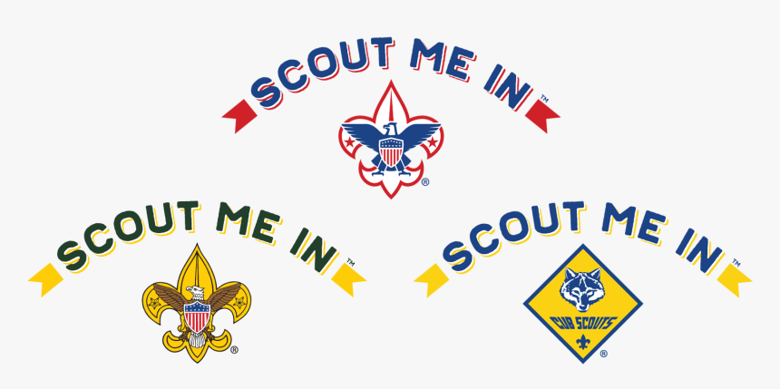 Scout Me In Triple Logo - Scout Me In Cub Scouts, HD Png Download, Free Download