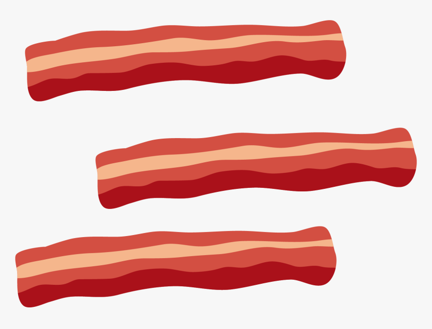 Bacon Tocino Meat Clip Art - Transparent Background ...