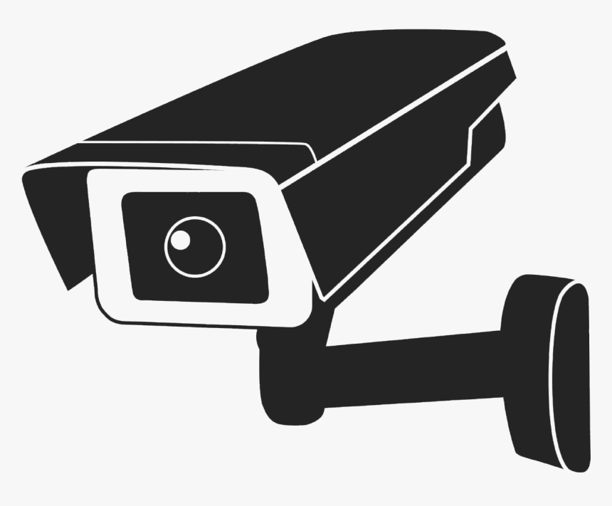 Closed-circuit Television Surveillance Wireless Security - Video Surveillance Camera Clipart, HD Png Download, Free Download