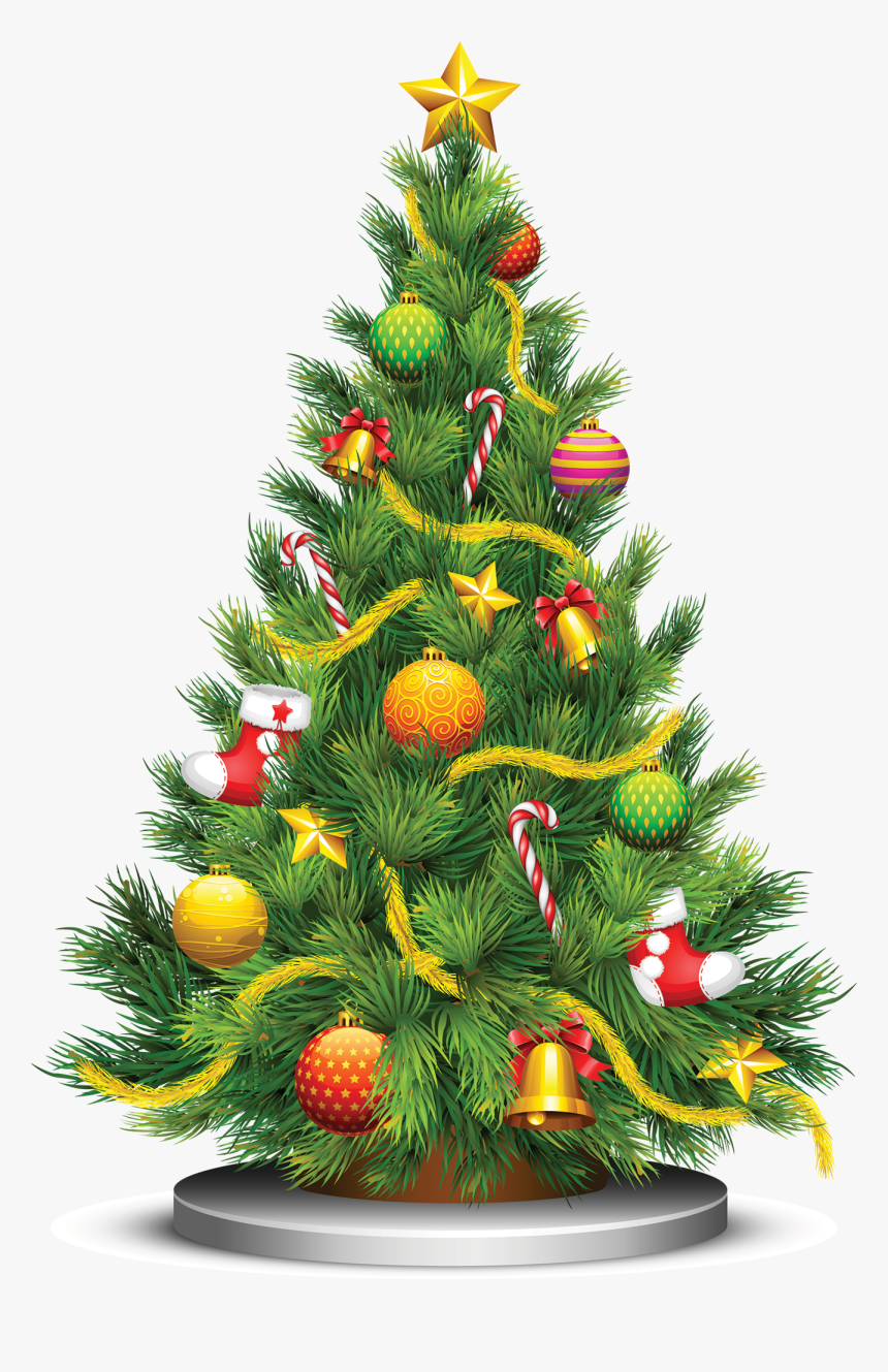 Christmas Tree Png - Christmas Tree Vector Png, Transparent Png, Free Download