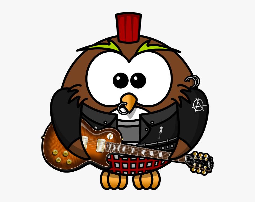 Owl Rock Star Svg Clip Arts, HD Png Download, Free Download
