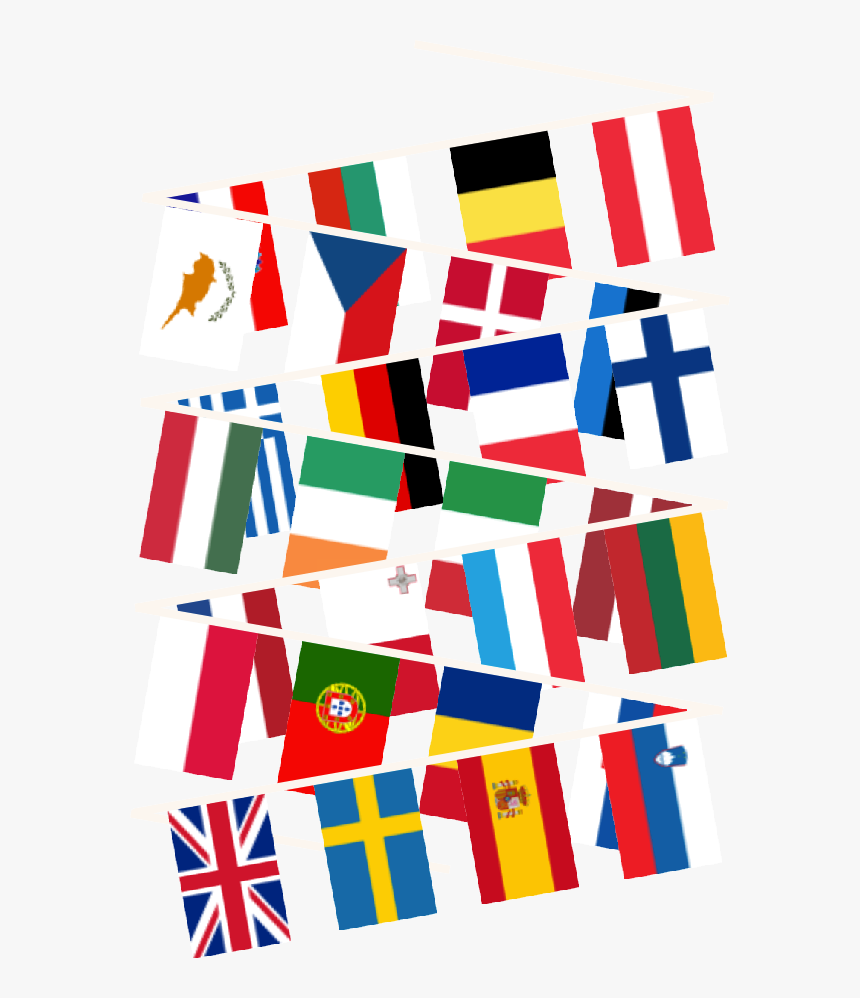 Buy European Union Bunting, HD Png Download, Free Download