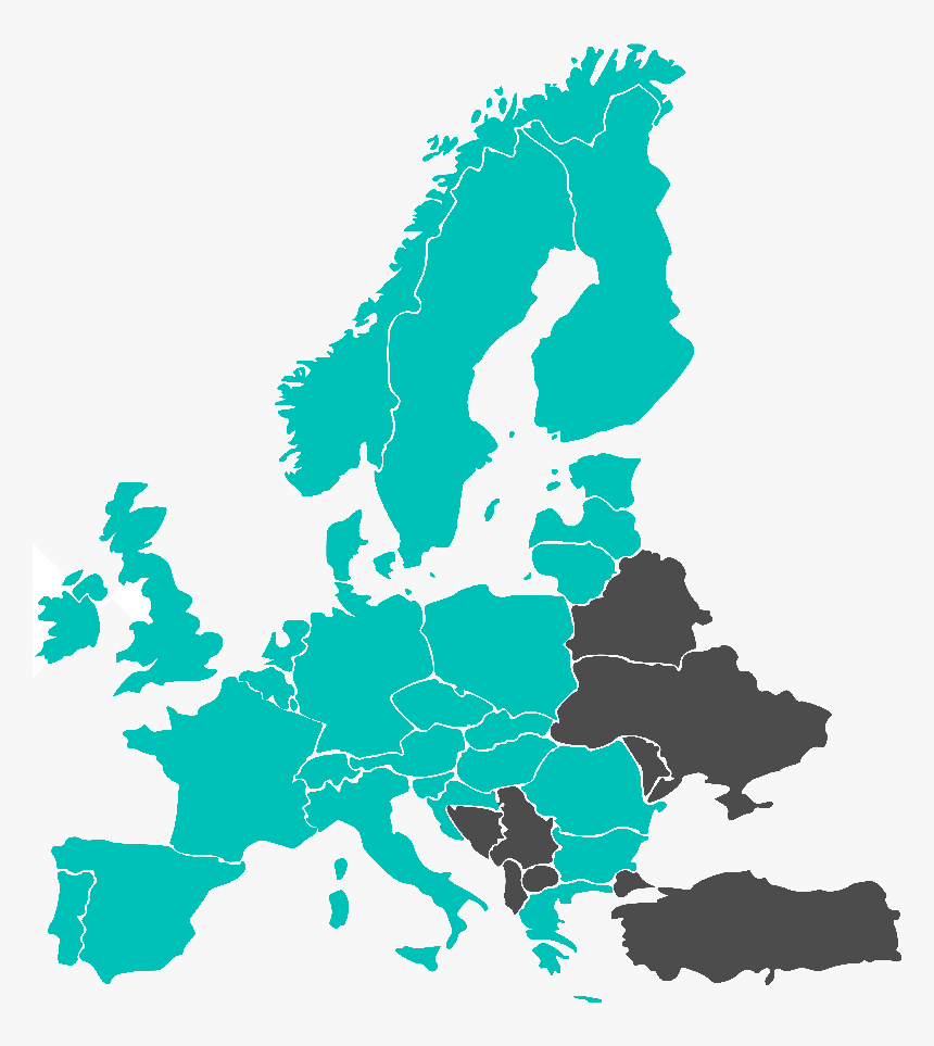 Europe 4g Coverage, HD Png Download, Free Download
