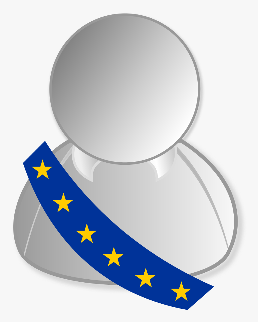 European Union Politic Personality Icon, HD Png Download, Free Download