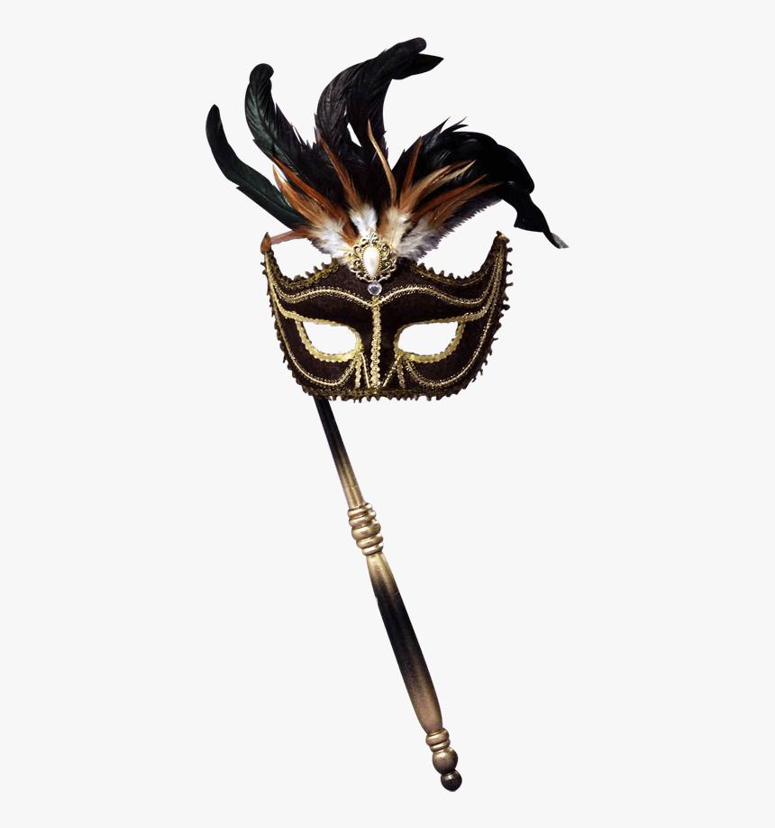 Black Venetian Masquerade Mask, HD Png Download, Free Download