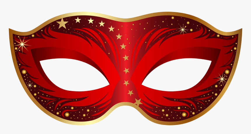 Collection Of Red Masquerade Mask Clipart High Quality,, HD Png Download, Free Download