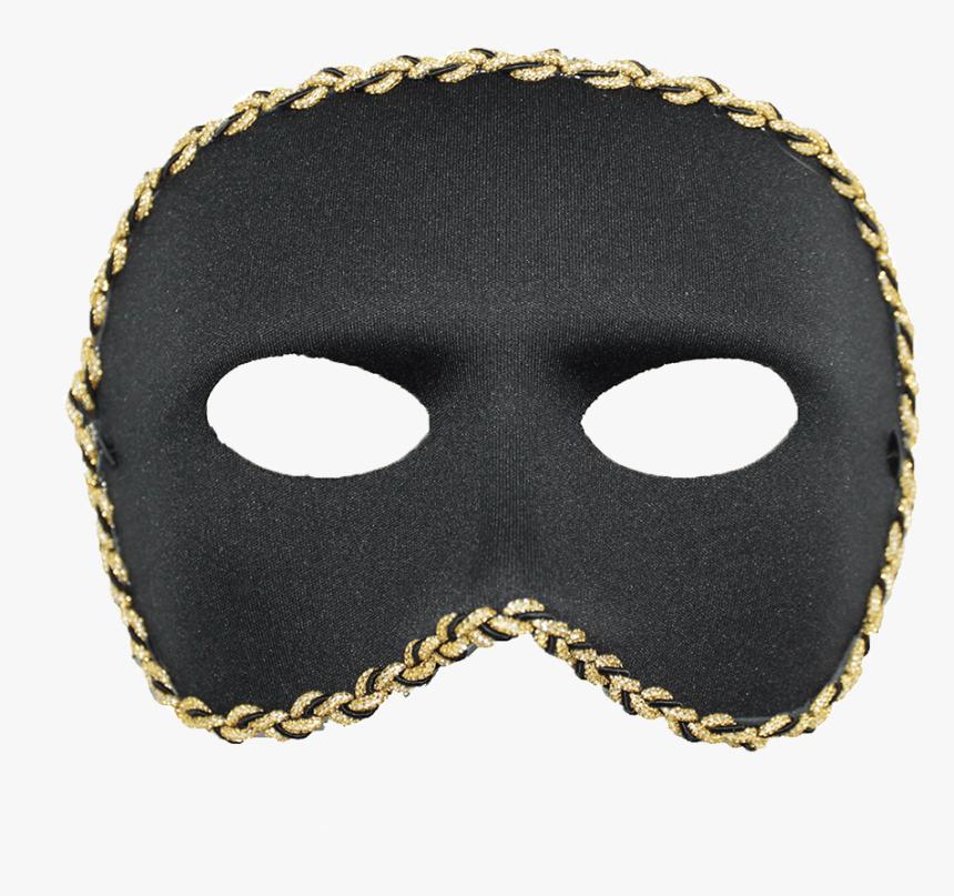 Black Masquerade Mask Png, Transparent Png, Free Download