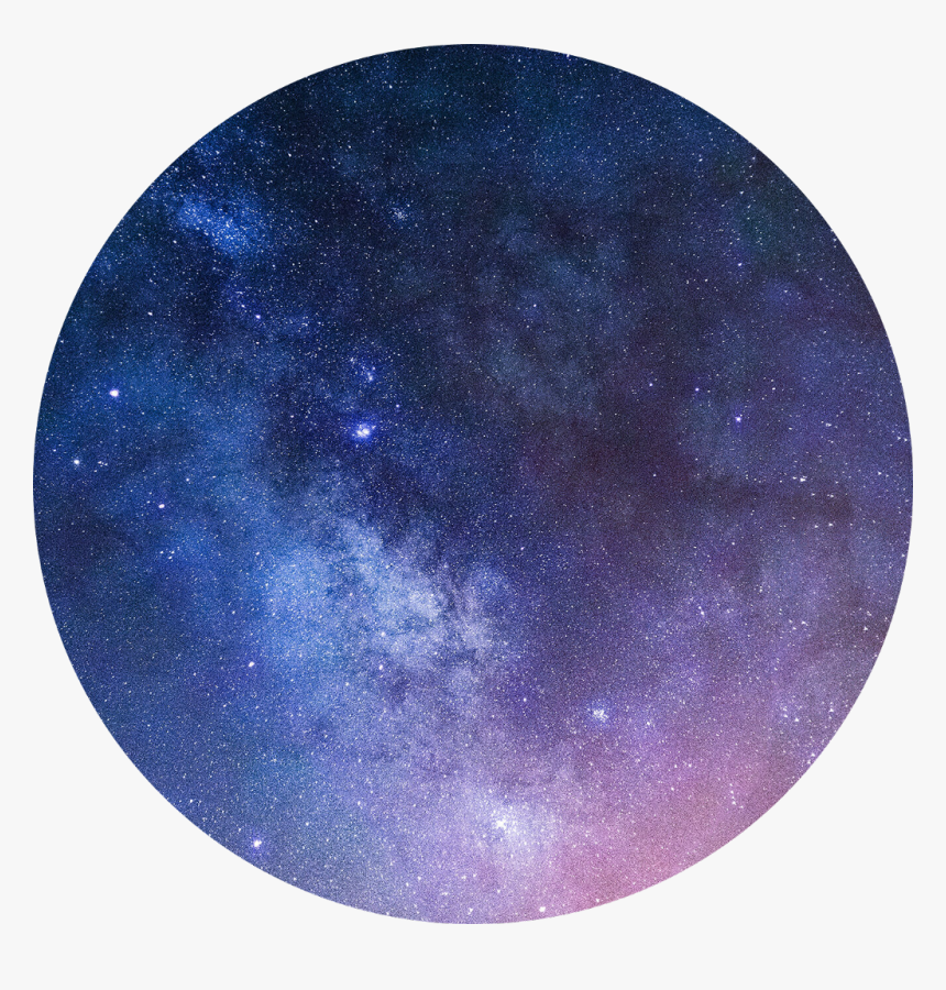 Galaxy Aesthetic Space Circle Background Purple Hd Png Download Kindpng