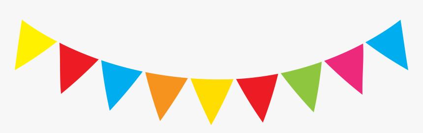 Clip Art Flag Banner Svg - Birthday Decors Transparent Background, HD Png Download, Free Download