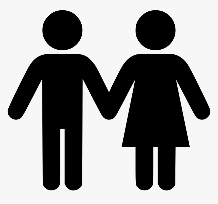 Couple Icon Png - People Holding Hands Icon, Transparent Png, Free Download