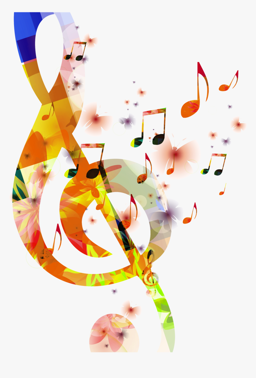 Transparent Clipart Image Colour Music Notes Png - Music Notes Images Png, Png Download, Free Download