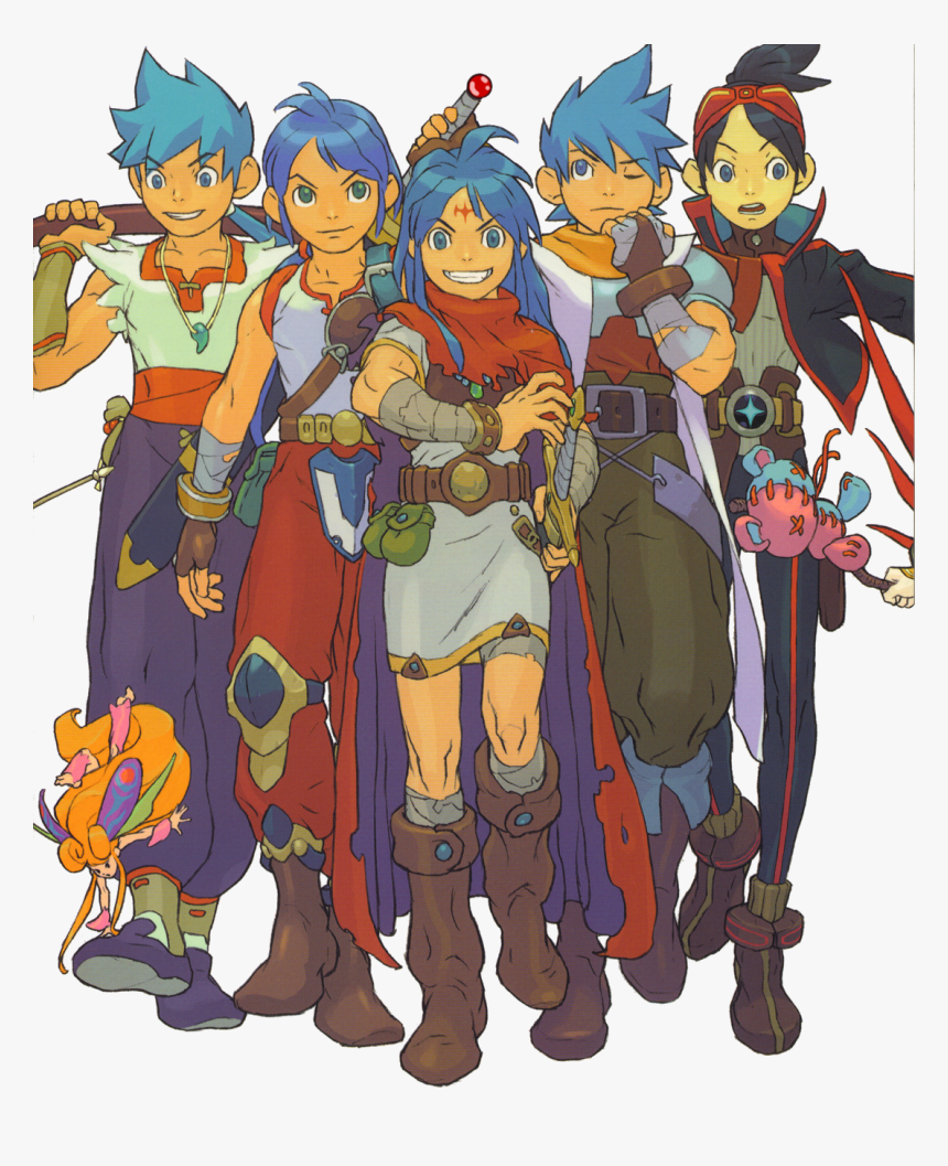 A Swordsman Who Can Turn Into A Dragon Marvel Needs - Breath Of Fire Artbook, HD Png Download, Free Download