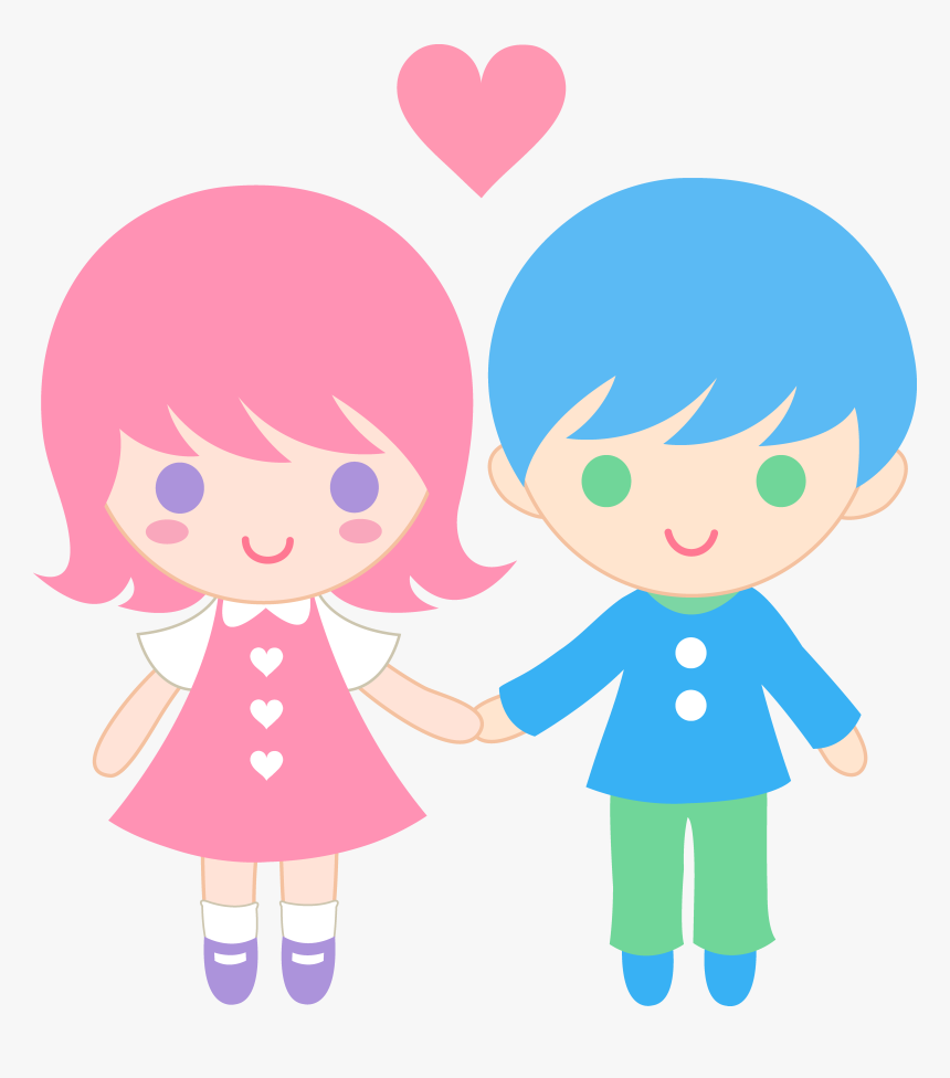 Transparent Couples Clipart - Couple Lover Cartoon Png, Png Download, Free Download