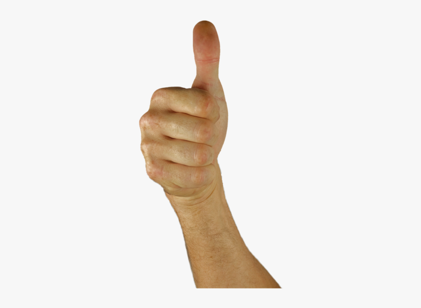 Thumbs Up, Thumb, Hand, Positive, Excellent, Great - Thumbs Up Arm Transparent Background, HD Png Download, Free Download