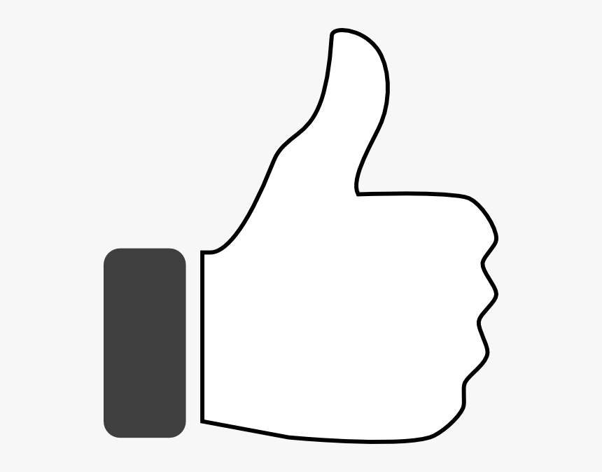 Thumb Down Png - Thumb Up White Png, Transparent Png, Free Download