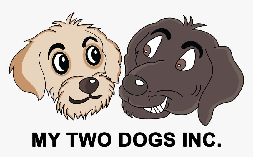Transparent Dog Bath Png - Two Dog Cartoon, Png Download, Free Download