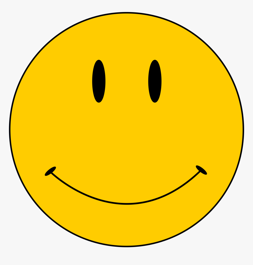 Original Smiley Face Png Images Clipart - Roblox Smile Classic Face, Transparent Png, Free Download