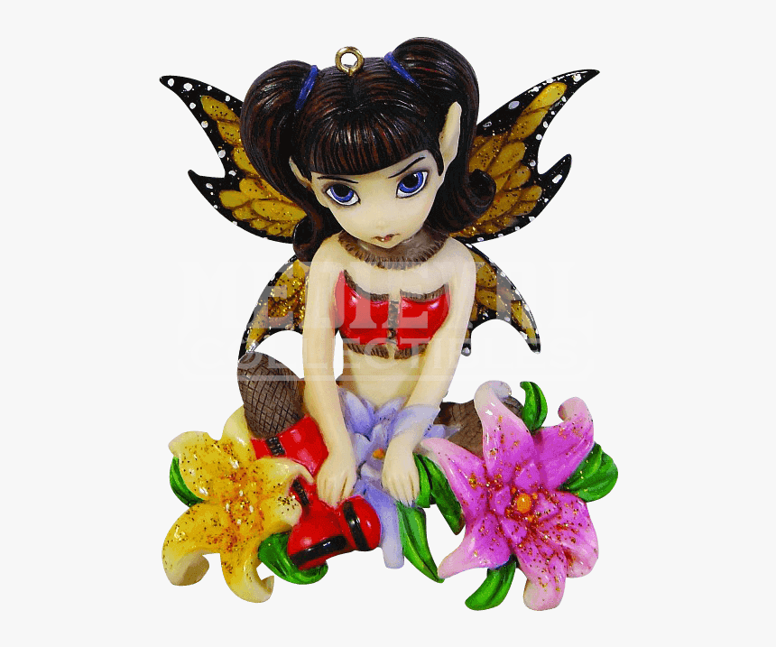 The Art Of Jasmine Becket-griffith Figurine Flower - Figurine, HD Png Download, Free Download