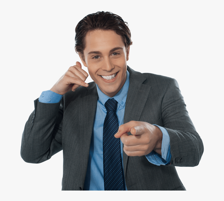Pointing Clipart Mens Model - Stock Photography, HD Png Download, Free Download