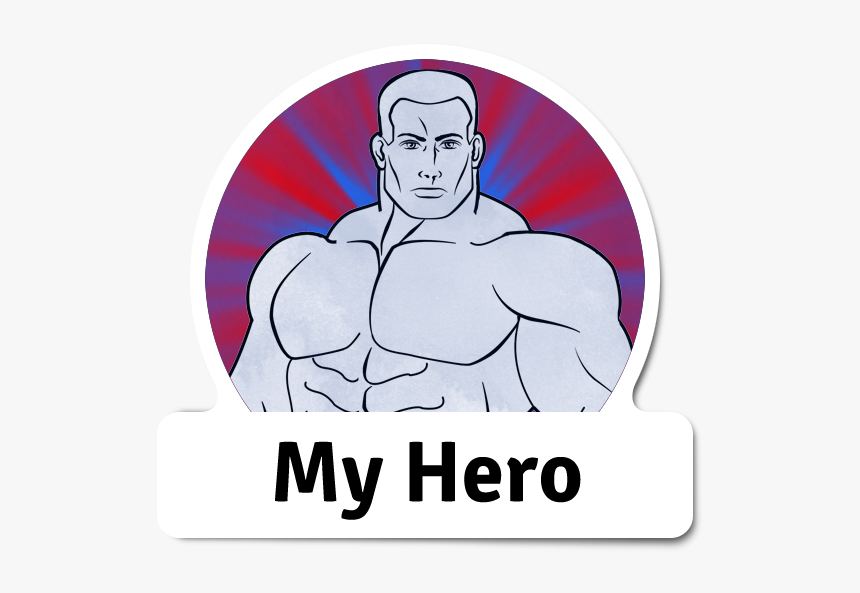 My Hero - Label, HD Png Download, Free Download