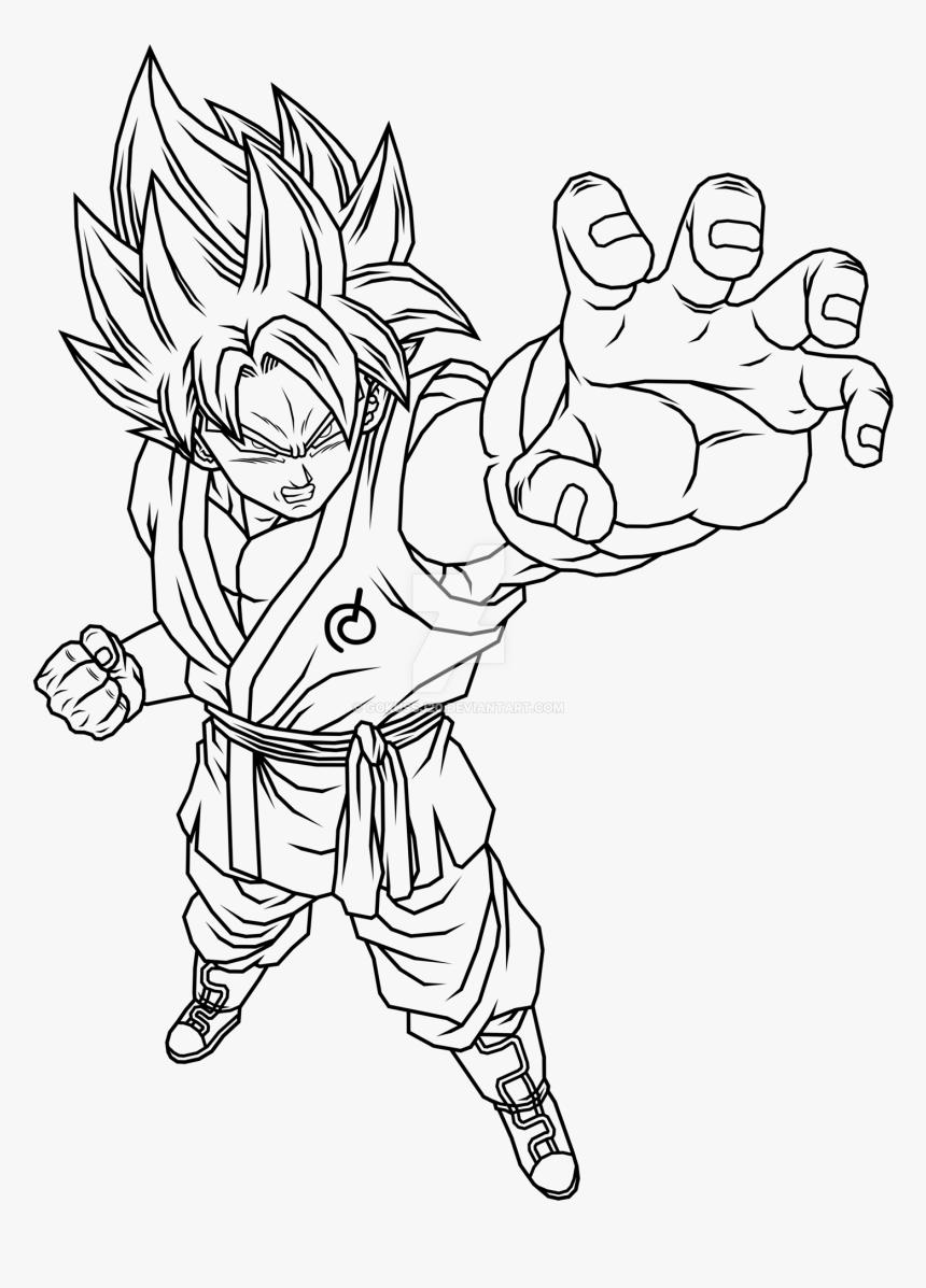 Son Goku Super Saiyan Traje De Wiss Dbs By Gokussj20 Goku