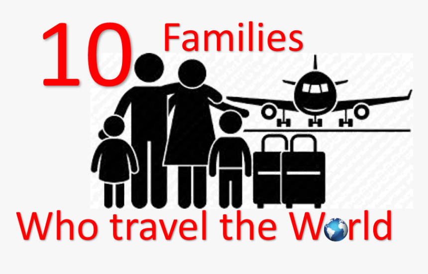 Family Travel Icon Png Transparent Png Kindpng