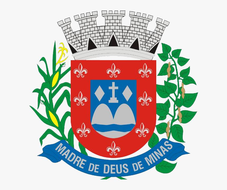 Brasão Oficial De Madre De Deus De Minas - Brasão Madre De Deus De Minas, HD Png Download, Free Download