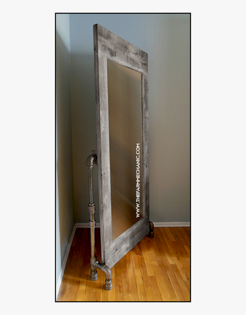 Floor Mirror - Diy Stand For Mirror, HD Png Download, Free Download