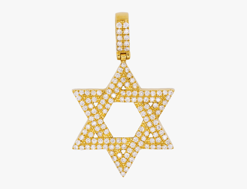Estrella De David Png - Jewish Star Gold, Transparent Png, Free Download