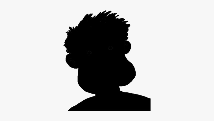 Shin Chan Png Transparent Images - Silhouette, Png Download, Free Download