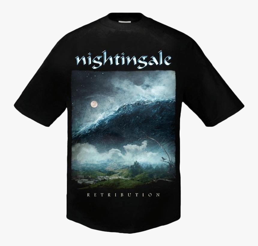 Retribution Shirt - Nightingale Band T Shirt, HD Png Download, Free Download