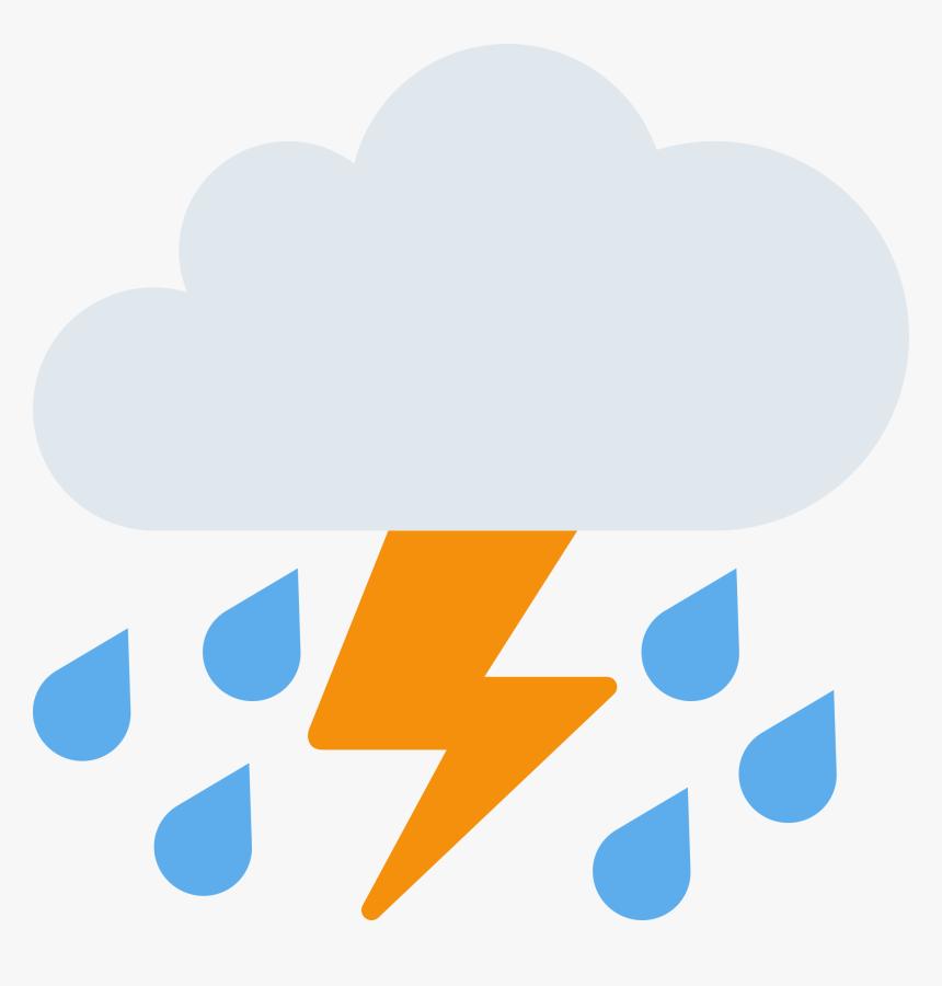 Gewitter Emoji, HD Png Download, Free Download