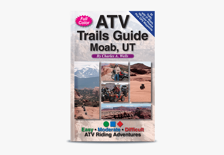 Atv Trails Guide: Moab, Ut, HD Png Download, Free Download