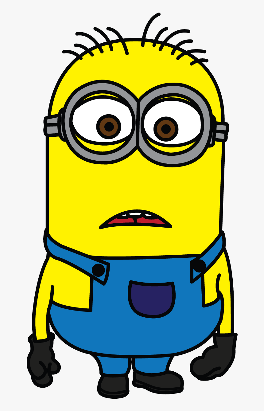 Minion Despicable Me Http Easy Drawing Of Cartoon Character Hd Png Download Kindpng