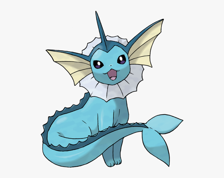 Shiny Pokémon Vaporeon On Switch - Vaporeon Pokemon Eevee Evolution, HD Png Download, Free Download