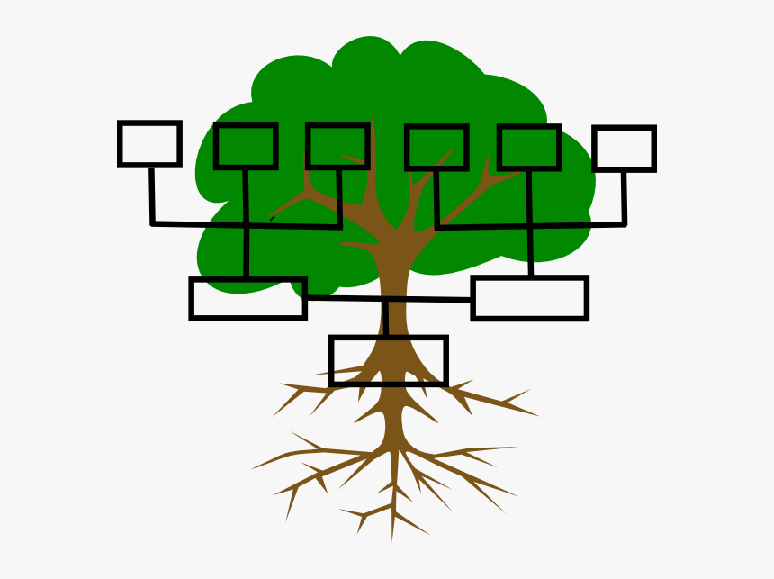 Free Family Tree Clipart Image - Family Tree Blank Clipart, HD Png Download, Free Download