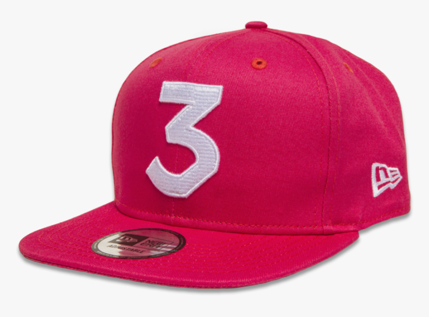 Chance Hat Red 3 - Chance The Rapper New Era Hat, HD Png Download, Free Download