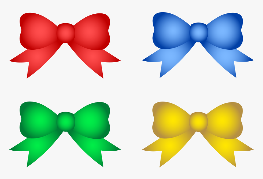 Green Christmas Bow Png - Christmas Tree Decorations Clipart, Transparent Png, Free Download
